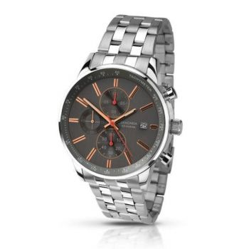 Sekonda Gents Chronograph Stainless Steel Watch   1156-SNP