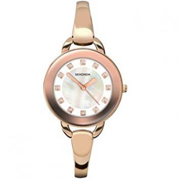 Sekonda Ladies' Rose Gold Plated Watch   2052-NEW