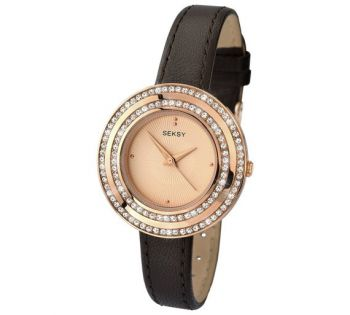 Seksy Ladies' Rose Gold Plated Watch  SNP 2076
