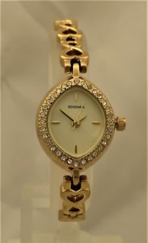 Sekonda  Ladies Gold Plated Watch  2208-SM-SNP