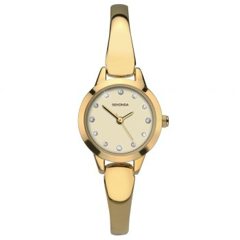 Sekonda Ladies Half Bangle Watch - 2480-SNP