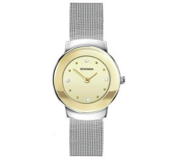 Sekonda Ladies Leather Strap Watch - 2503-SNP
