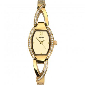 Sekonda Ladies Gold Plated Watch - 2543-SNP
