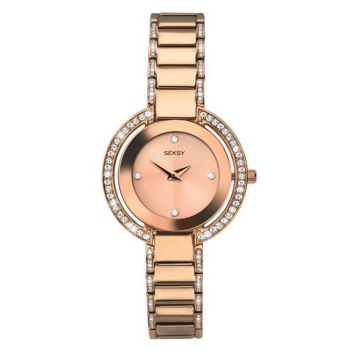 Seksy Ladies Rose Gold Plated Watch    2575-SNP