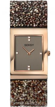 Seksy Rocks Ladies Dress Watch 2580