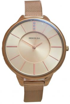 Sekonda  Ladies Rose Gold Plated Watch    2596-NEW