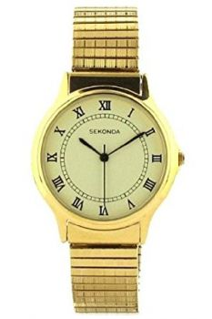 Sekonda  Gents Gold Plated Expander Watch  SNP 3024B