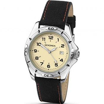 Sekonda Gents Canvas Strap Watch -  3511-SNP