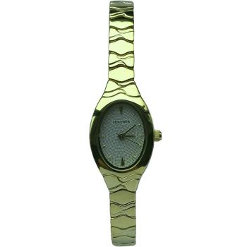 Sekonda Ladies Gold Plated Expanding Bracelet Watch - 4494-SNP