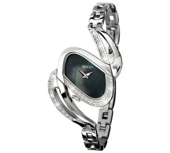 Seksy Ladies Stainless Steel Bracelet Watch  SNP 4860