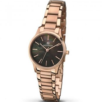 Accurist Ladies Rose Gold Plated Watch  8099-NEW