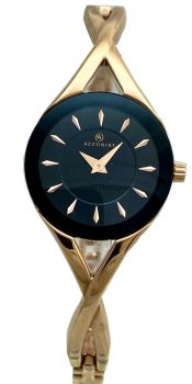 Accurist Ladies Rose Gold Plated Watch - 8121-NEW