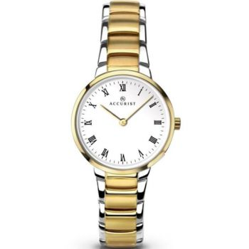 Accurist Ladies Two Tone Watch  8129-NEW