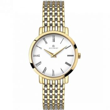 Accurist Ladies Two Tone Watch  8159-NEW