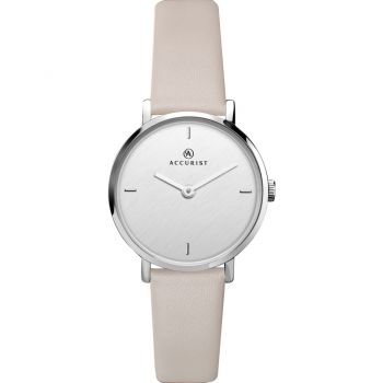 Accurist Ladies Leather Strap Watch      8224-NEW