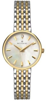 Accurist Ladies Mother of Pearl Dress Watch - 8154 NEW