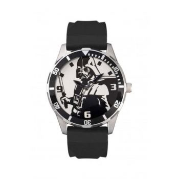 Disney Gents Darth Vader Rubber Strap Watch  DAR1017-DNP