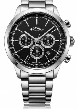 Rotary Gents Cambridge Stainless Steel Watch       GB05253/04-NEW