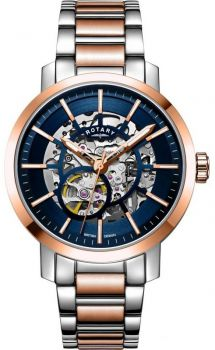 Rotary Gents Greenwich Automatic Skeleton Watch GB05352/05 NEW