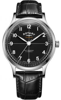 Rotary Gents Heritage Limited Edition Automatic Watch - GS05125/04 NEW