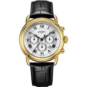 Rotary Gents Canterbury Chronograph Watch  GS05333/21-NEW