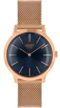 Henry London Iconic Dress Watch HL34-M-0292 NEW