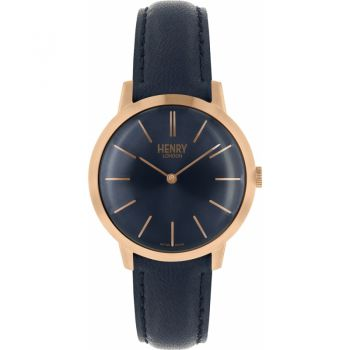 Henry London  Ladies Rose Gold Plated Watch   HL34-S-0216-HLNP