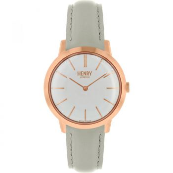 Henry London  Ladies Rose Gold Plated Watch   HL34-S-0220-HLNP