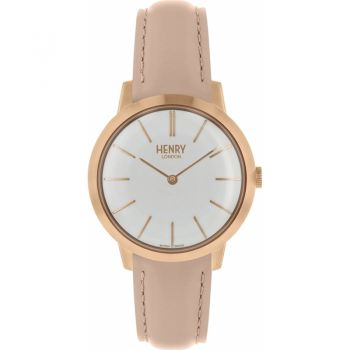 Henry London  Ladies Rose Gold Plated Watch   HL34-S-0222-HLNP