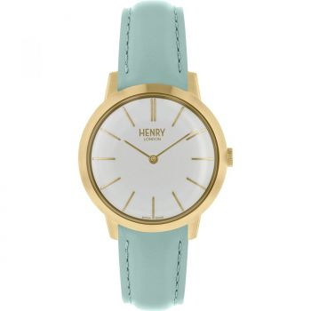 Henry London Ladies Gold Plated Watch - HL34-S-0224 HLNP