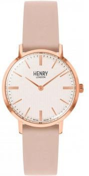 Henry London Regency Unisex Watch HL34-S-0404 NEW