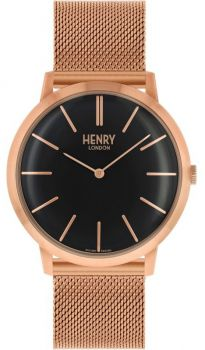 Henry London Iconic Dress Watch HL40-M-0254 NEW