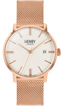 Henry London Regency Dress Watch HL40-M-0374 NEW