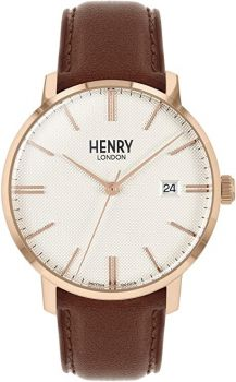 Henry London Regency Dress Watch HL40-S-0348 NEW