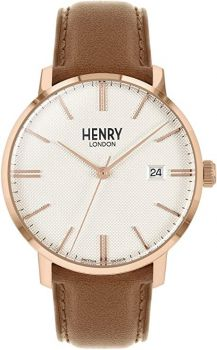 Henry London Regency Dress Watch HL40-S-0350 NEW