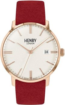 Henry London Unisex Regency Dress Watch HL40-S-0352 NEW