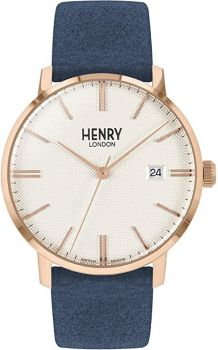 Henry London Unisex Regency Dress Watch HL40-S-0358 NEW