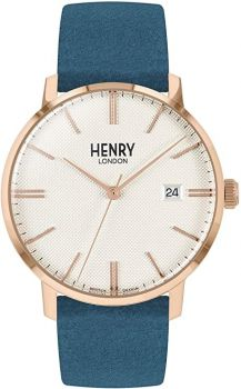 Henry London Unisex Regency Dress Watch HL40-S-0360 NEW