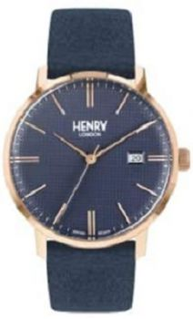 Henry London Regency Unisex Watch HL40-S-0370 NEW