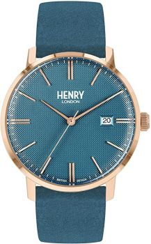 Henry London Unisex Regency Dress Watch HL40-S-0372 NEW
