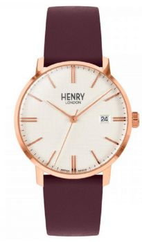 Henry London Regency Dress Watch HL40-S-0396 NEW