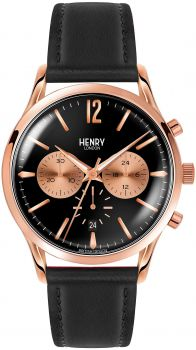HLNP HL41-CS-0042 Henry London Richmond Gents Chronograph Leather Strap Watch