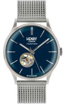 Henry London Gents Automatic Skeleton Watch - HL42-AM-0285 NEW
