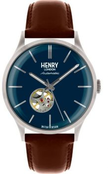 Henry London Gents Automatic Skeleton Watch - HL42-AS-0277 HLNP