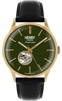 Henry London Gents Automatic Skeleton Watch - HL42-AS-0282 HLNP