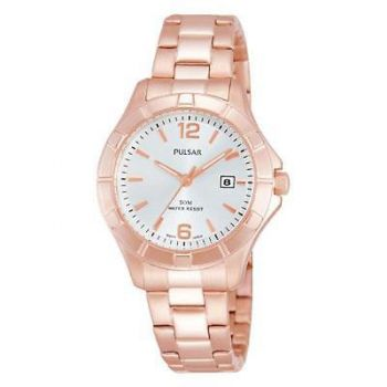 Pulsar Ladies Rose Gold Plated Watch  PH7388X1-PNP