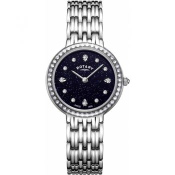 Rotary Ladies Kensington Stainless Steel Watch LB00400/67 NEW
