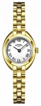 LB05015/11 NEW Rotary Ladies Gold Plated Bracelet Watch