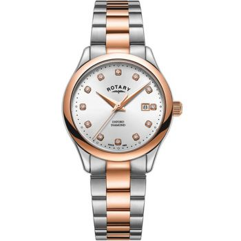 Rotary Ladies Oxford Diamond Watch       LB05094/70/D-NEW