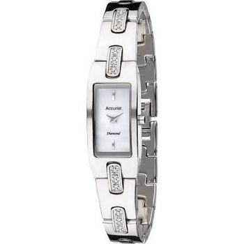 Accurist Ladies Crystal Set Watch    LB1462-ANP